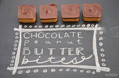 Pen N' Paper Flowers: SUGAR | Chocolate Peanut Butter Bites