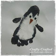 Footprint!  #craft #paint