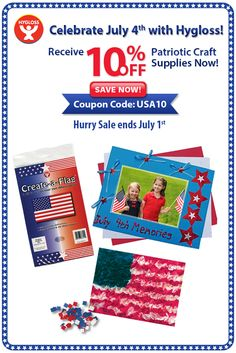 Summer crafts on pinterest summer crafts coupon and for Save on crafts promo code