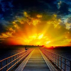 .The way to the sun