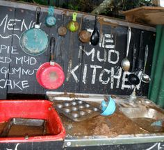 Adventures at home with Mum: The Mud Kitchen - A Recipe for marvellous Outdoor play