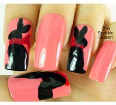 Chocolate Easter Bunnies – March #HePicksMyPolish Nail Art Challenge