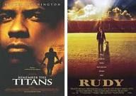 Two great movies! Both based on true stories.