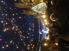 Festival of Lights in Natchitoches, LA 2012