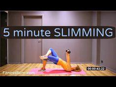 5 Min Full Body Slimming Workout Burn Fat Fast Level 2 - YouTube