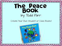 Peace Book Freebie