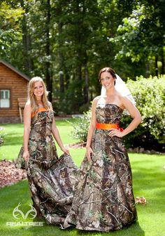 Realtree Camo Wedding Dresses - Natural Elegance