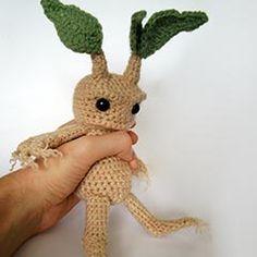 crochet mandrake :)