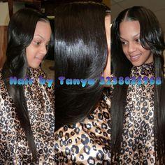 partial sew in, dream hairdo, wounme style, hair inspir, weav hairstyl