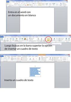Como usar el Word para crear paginas para una agenda