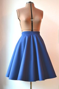 Rockabella blue 50's skirt