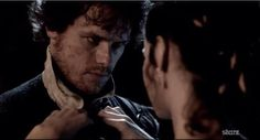 Because of this photo. | Community Post: 20 Verra Verra Braw Reasons Why Sam Heughan Is The Perfect Jamie Fraser
