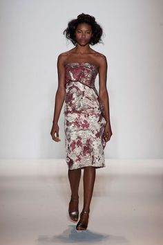 The Prettiest Looks From Lela Rose Fall 2013 Runway: Lela Rose Fall 2013