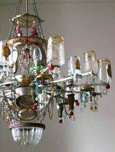 Madeleine Boulesteix chandelier