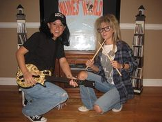 Celebrity Halloween Costumes: Wayne & Garth