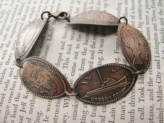 DIY: Souvenir Penny Bracelet.