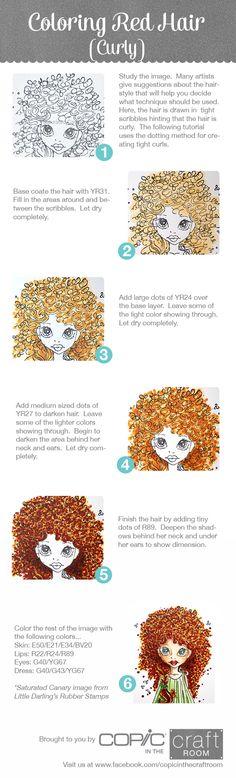 Coloring Techniques On Pinterest