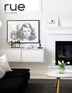 Rue magazine may-june/2013 #decor #interior #design #free