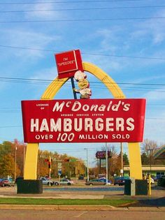 Vintage McDonald's Sign