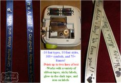 Create your own personalized ribbon with the Epson LabelWorks Printable Ribbon Kit.  Read Crissa's review for more information PLUS enter to win a LabelWorks kit of your choice ($109.99 value!)  Ends 5/14/2014