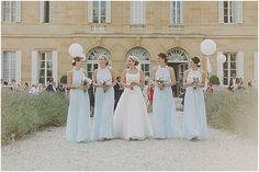 Blue and White Wedding Ideas - pastel brides