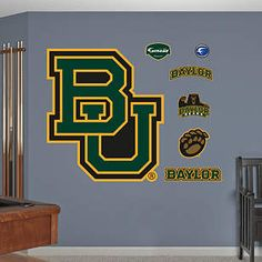 #Baylor Fathead decals for home or office