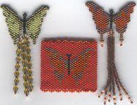 motif pattern, bead butterfli, butterfli pendant, pendant motif