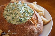 Vegan Spinach Dip from Leslie Durso