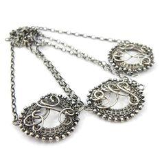 Bridesmaid bracelet set wire wrap jewelry by MadeBySunflower, $200.00
