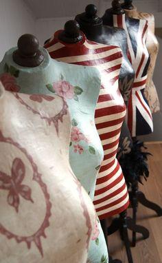 VINTAGE & CHIC: decoración vintage para tu casa [] vintage home decor: Novedades (y maniquíes) [] News (& mannequins)