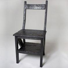 burned chair