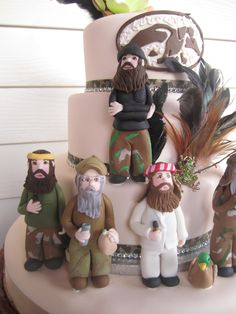 Duck Dynasty-inspired 20th birthday cake for daughter, Mimi.from