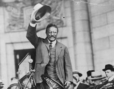 When Theodore Roosevelt came to Hampton Roads on May 30, 1906, America's first modern president cut a striking figure. -- Mark St. John Erickson