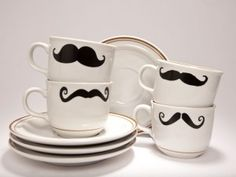 cup of moustache
