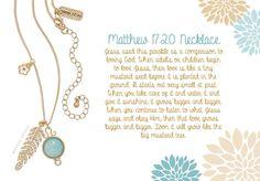 Premier Designs Matthew 17:20