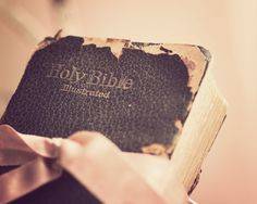 """The Bible that is falling apart usually belongs to someone who isn't"""