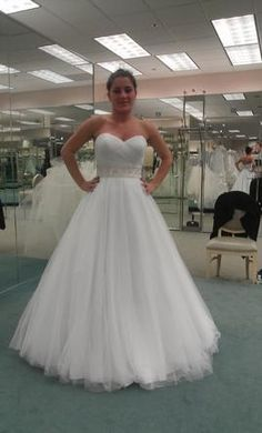 Pre owned wedding dresses on pinterest davids bridal for How much is a custom wedding dress