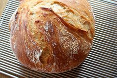 Gotta try this amazing no-knead bread.