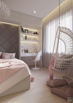 bedroom, interior, a