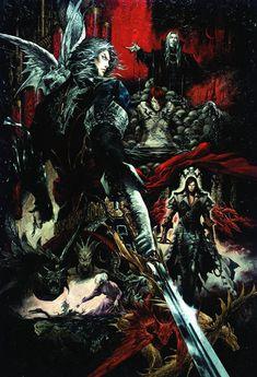 Poster Art ~ Castlevania DXC Art