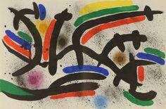 Litografia IX  Joan Miró