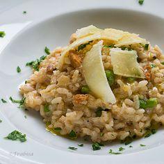La cocina de Frabisa: Risotto de Erizos de Mar y Guisantes Frescos. COCINA GALLEGA