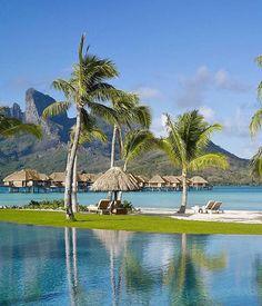 Four Seasons Bora Bora All-inclusive Resort ~ Best All-Inclusive Island Resorts Ever
