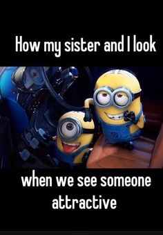 I can totally relate to this one! Every time we are out at the mall, this is what we do instead of shopping. Minions just make it a whole lot funnier!