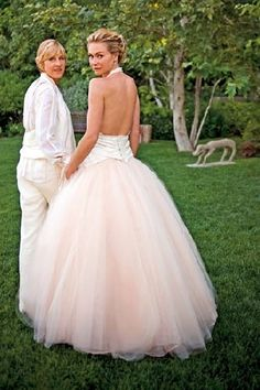 #lesbian love# Ellen is my hero! She looks beautiful with her gorgeous wife :)