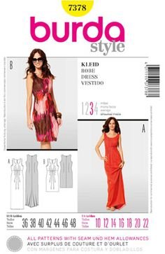 SewingPatterns.com - Burda 7378