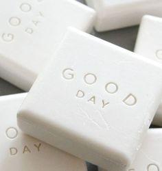 White Good Day Soap