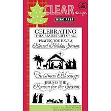Hero Arts Clear Stamps 4x6 Sheet - Gift