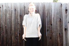 knit sweater (includ