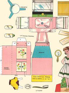Dolls house printables bathroom on Pinterest   Picasa, Album and Paper ...